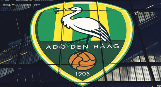 Exterieur Kyocera Stadium ADO Logo