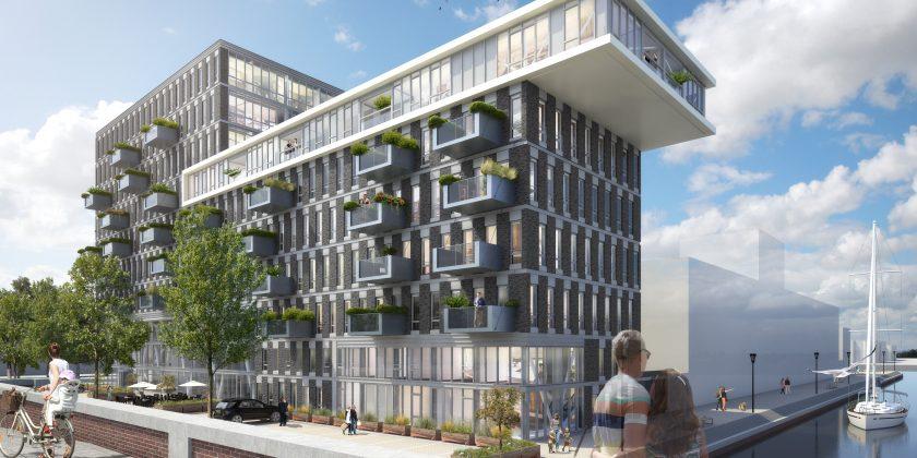 240 nieuwe huur en koopwoningen op binck eiland haagmedia for Haag wonen koopwoningen