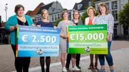 In het oude stadhuis van Harderwijk vond gisteren de finale plaats van de eerste editie van de William Schrikker Initiatief Prijs. De prijs, een geldbedrag van 15.000 euro, ging uiteindelijk naar het initiatief van de Oudergroep Klank van het Centrum voor Jeugd en Gezin in Rijswijk. De...