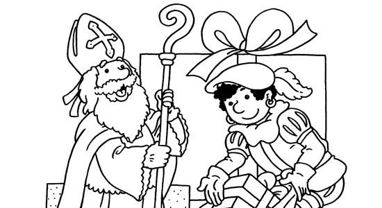 Sinterklaas Scooter Kleurplaat Kleur De Sinterklaaskleurplaat In En Maak Kans Op Mooie