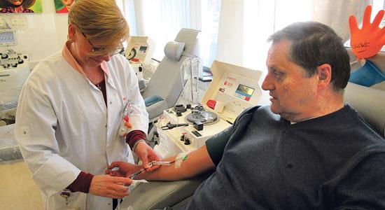 Rijswijker doneert voor 400ste keer bloed - Haagmedia