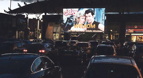 Drive in bioscoop bij in de bogaard haagmedia for Drive in bioscoop